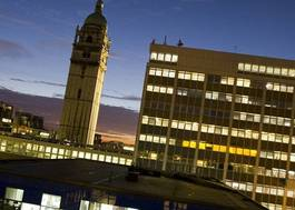 Institution featured at 70 percent quality 510 imperial college london south kensington campus at night20120906 2 1khskiw